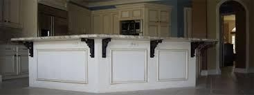 kitchen island countertop overhang granite thickness how should granite countertops be