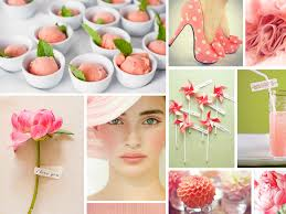 what goes with pink pink and green wedding inspiration board