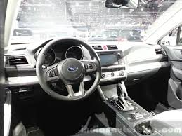 subaru outback black 2015 2015 subaru outback dashboard at 2015 geneva motor show indian