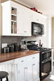 Black Appliances Kitchen Ideas Black And White Kitchen Appliances Kitchen And Decor
