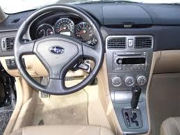 subaru forester interior 2005 subaru forester review car review subaru forester