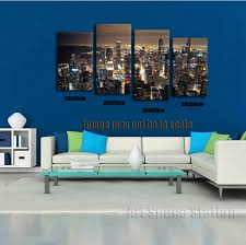 chicago home decor chicago skyline giant wall art home decor hd canvas print chicago
