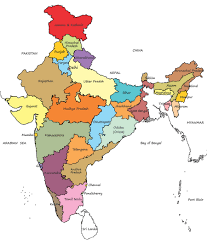 States Of India Map by Where We Are Today Christ For India