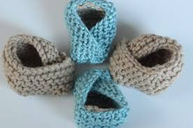 how to knit baby booties fortune cookie design