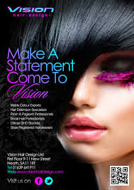 vision hair extensions vision hair design ltd flyer 2013 hair and beauty techniques