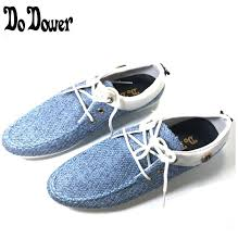 blue patterned shoes denim patterned shoes cutting edge fashion