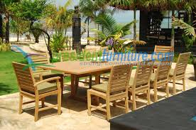 Patio Table Seats 10 10 Seater Set President Furniture Home Site