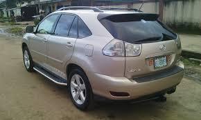 lexus rx330 nairaland very sharp registerd 2006 lexus rx330 for sale in phc autos