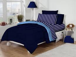 amazon com twin xl dorm room bedding set navy and light blue