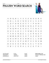 printable frozen images frozen word search free printable allfreeprintable com