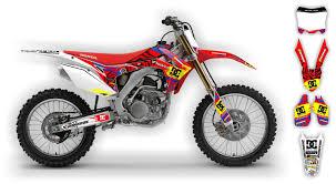 motocross bike graphics scrub designz honda graphics kit kicker reviews comparisons