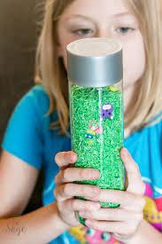 look and find spring sensory bottle 730 sage street