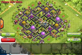 layout coc town hall level 7 clash of clans x formation base designs guidescroll