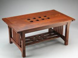 arts and crafts table for arts and crafts mission coffee table coffee tables
