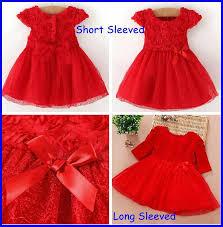 2018 New 2016 Girls Christmas Red Princess Dress Children Christmas