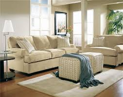 Living Room Layout Ideas With Sectional Sofa Furniture Beige Ethan Allen Sectional Sofas With Feizy Rug And