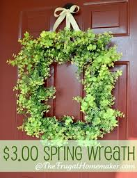 spring wreaths for front door over 27 diy easter and spring wreath door decorations