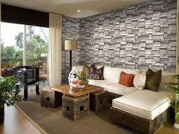 3d effect brick design waterproof vinyl wallpaper decoration for