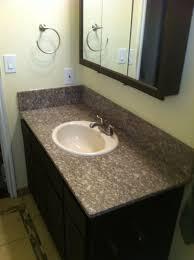 bathroom countertop ideas simple bathroom ideas with grey granite countertop using