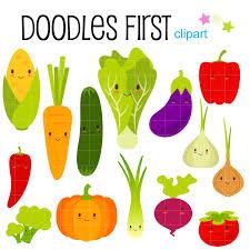 happy vegetable clipart clipartix