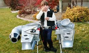 Falcon Halloween Costume Halloween Costume Boy Turns Walking Aid Millennium