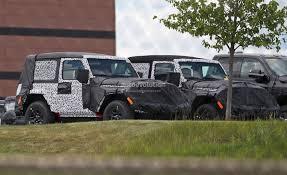 jeep scrambler 4 door 2018 jeep wrangler jl timeline leaked production could start in