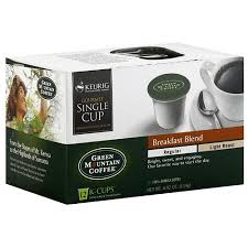 light roast k cups green mountain coffee roasters breakfast blend light roast k cups