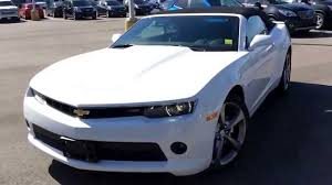 white chevy camaro convertible 2014 chevrolet camaro 2lt convertible rs package 140684