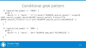 grok pattern exles analyse openldap logs with elk