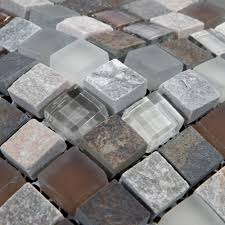 Beautiful Stone Glass Tile For Bathroom Wall Tiles And Kitchen - Stone glass mosaic tile backsplash