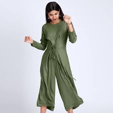 buy jumpsuit olive eyelet culotte jumpsuit buy culotte jumpsuits