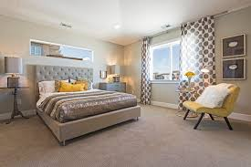 salt lake city brown polka dot curtains bedroom contemporary with