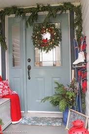 Christmas Decoration For Front Of House by House Of Turquoise Christmas Home Tour Feature The Happy Housie