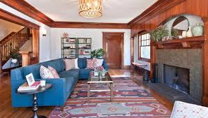 Gorgeous Homes Featuring KilimInspired Designs Blue Couches - Gorgeous homes interior design