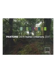pantoneview home interiors 2017 book at magazine cafe store usa