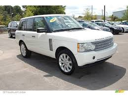 land rover 2007 black 2007 chawton white land rover range rover supercharged 17699707