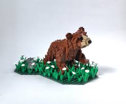 lego moc 9126 bear cub creator 2017 rebrickable build with lego