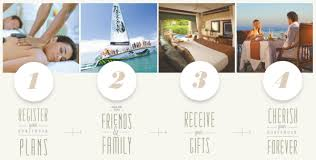 vacation wedding registry caribbean honeymoons destination weddings and all inclusive