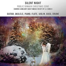 silent night christmas song chords u0026 melody in c g and a