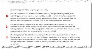 cover letters crafting your cover letter full page