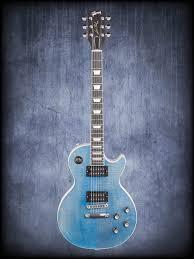 light blue gibson les paul gibson le les paul player plus 2018 electric guitar with case