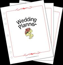 printable wedding planner wedding planner collection png