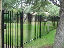 wrought iron fence installers san antonio tx