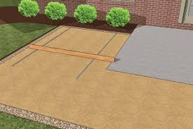 How To Install A Paver Patio Laying Sand For Paver Patio Screeding Horticulture Pinterest
