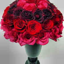 same day flower delivery nyc biedermeier roses an unique ombre color progression luxury