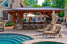 house plans with pools and outdoor kitchens how to design outdoor kitchen plans cakegirlkc