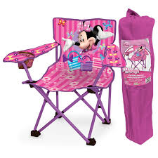 Mickey Mouse Chairs Amazon Com Minnie Mouse Bow Tique Folding Camp Chair Toys U0026 Games