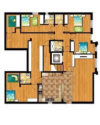 third floor plan psd amux designs arafen