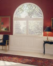 arch sunburst j m wheeler window coverings