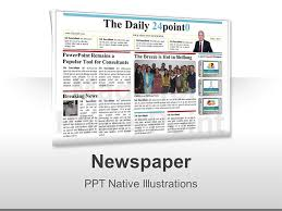 newspaper theme for ppt 45 newspaper template powerpoint editable newspaper template